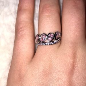 Jewelry - Pink sapphire ring size 6